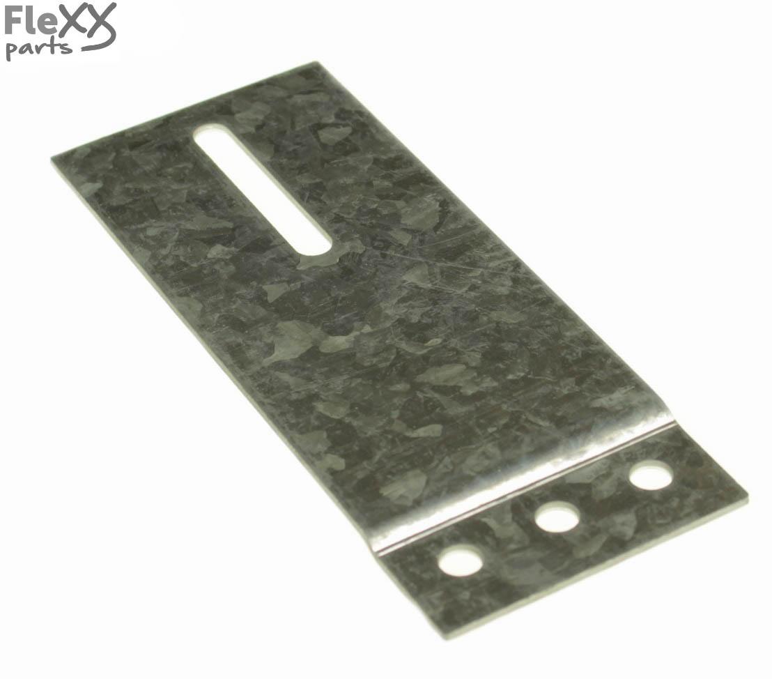 Railplaat 60 x 150 mm