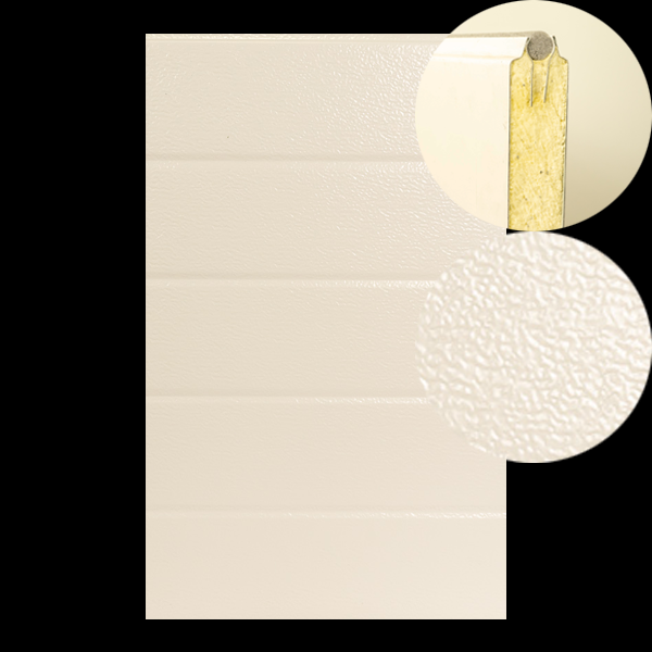 Paneel STAAL ST3 - 40x610mm - stucco/glad
